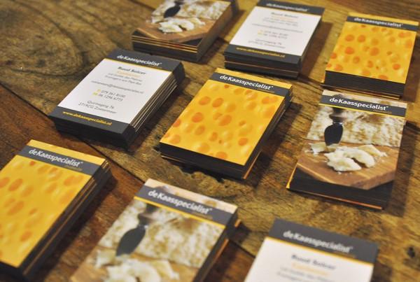 De Kaasspecialist Bussines Cards